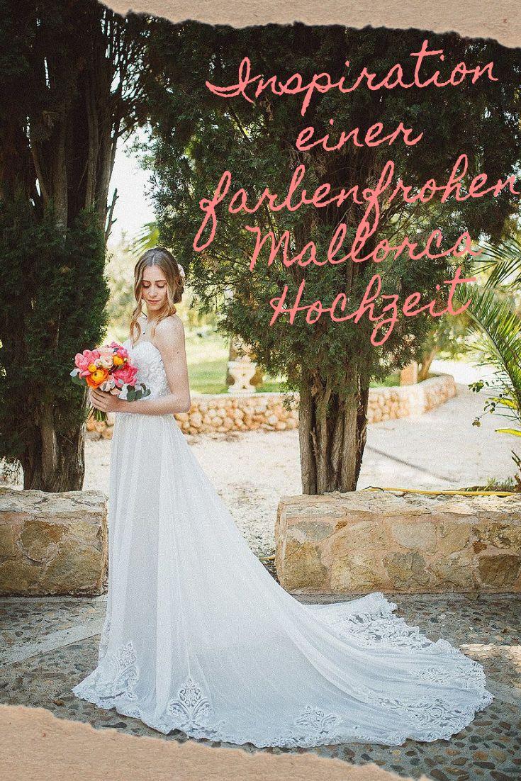 Inspiration für eine farbenfrohe Hochzeit im Mai auf Mallorca   – BLOG MAGAZIN