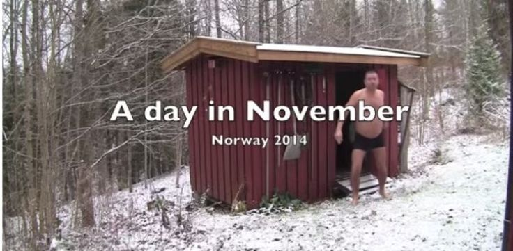 Mid-November Is When Norwegians Come Out Of Their Shell  via www.bored.com