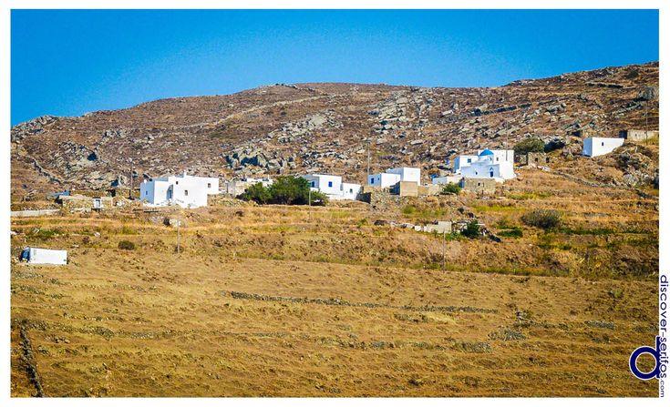 Between Panagia and Galani you will find a very small village called Pirgos, which was the second settlement of Serifos after the Chora. | Ανάμεσα στην Παναγιά και τη Γαλανή θα συναντήσετε έναν πολύ μικρό οικισμό, τον Πύργο, που ήταν ο δεύτερος οικισμός του νησιού μετά τη Χώρα. Μάθετε περισσότερα στο: http://www.discover-serifos.com/el/anakalupste/aksiotheata/oikismoi/purgos