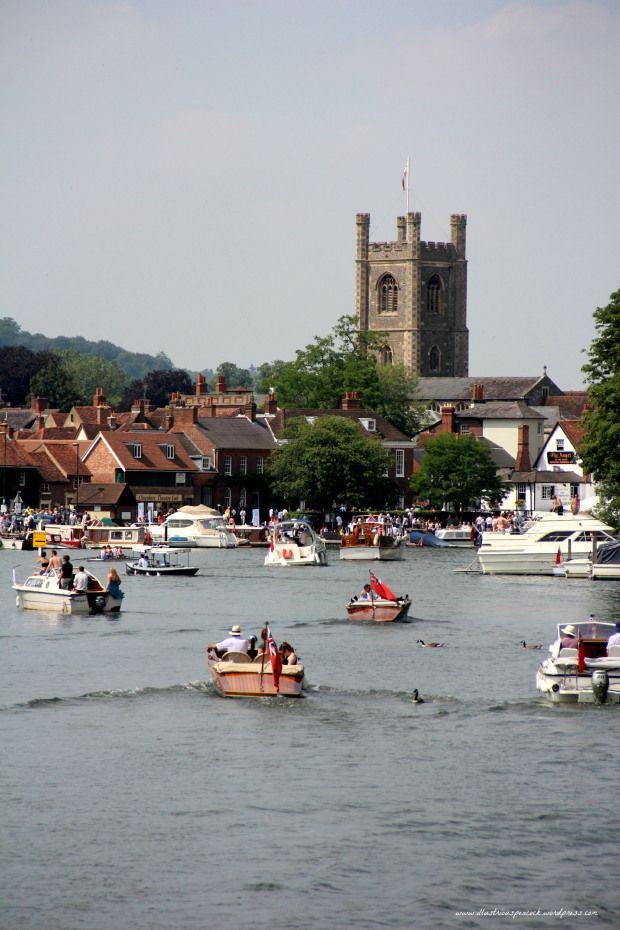 Boat bonanza in beautiful Henley On Thames.