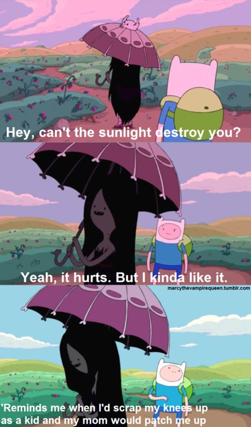 Marceline quote-- The only time Marceline's mother is EVER mentioned on the show!
