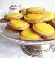 Pastas de té de limón (delicadas y sabrosas)