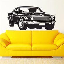 Envío gratis Shelby GT Ford Mustang muscular de carreras de coches tatuajes de pared arte Home Decor pared de vinilo pegatinas tx-042(China (Mainland))