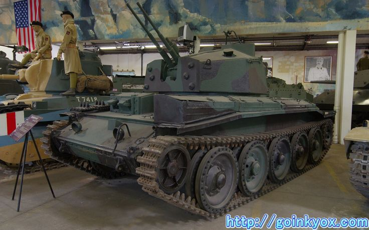 ソミュール戦車博物館の4(イギリスとソ連の大戦中車輌)