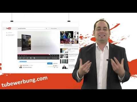 Youtube Video Werbung ads für mehr Traffic