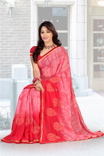 Presenting you the most fascinating attire with an imposing of designer orange saree, Most important and elegant thing fancy sober design gives a spotting persona to grab the gazing looks in various occasions. One should hit a wise purchase on this fabulous party wear saree to attain desired quality. Perfect to be worn on weddings, festivals and other ceremonies, our wonderful collection of designer sarees cater to different aesthetic tastes.