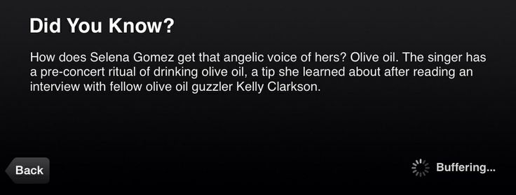 Weird fact about Selena Gomez