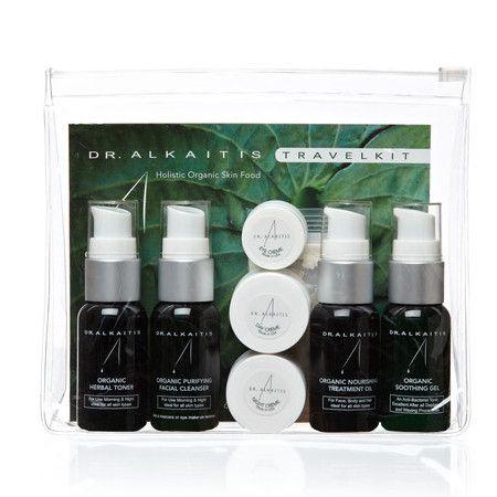 Dr Alkaitis Skin Care Travel Kit - Trial the whole range - All Skin