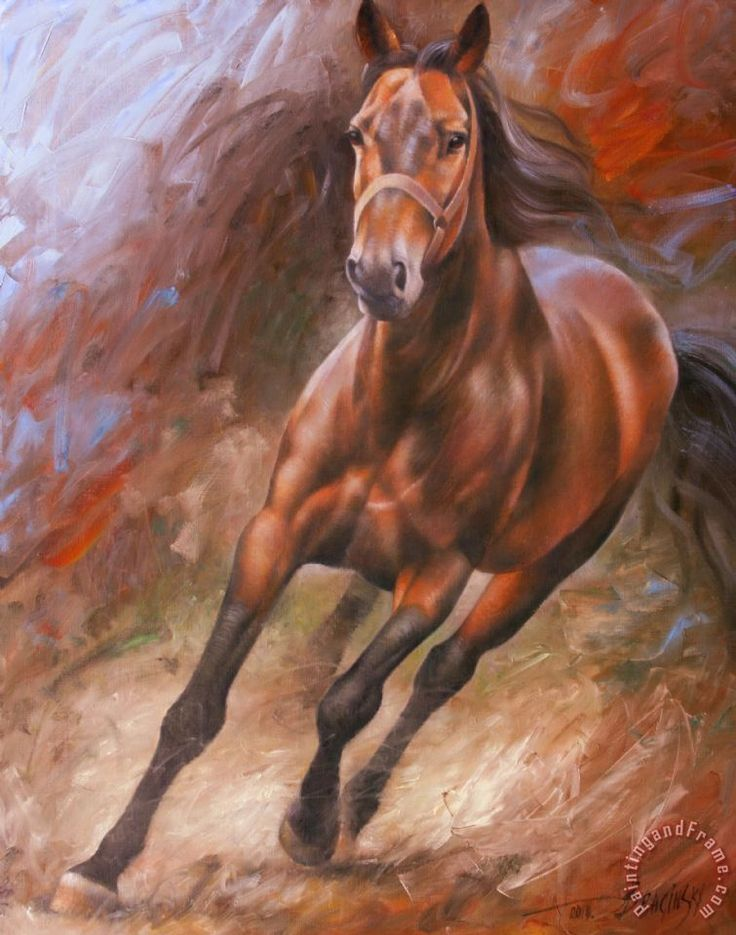 Arthur braginsky paintings of horses arthur braginsky for Art print for sale