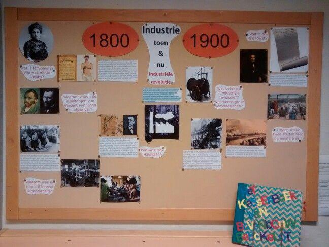 Themabord industriele revolutie