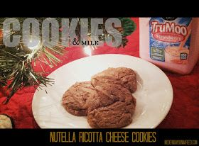 Confessions of a Stay-At-Home Mom: Nutella Ricotta Cheese Cookies {Lehigh Valley Dairy's Most Dunkable Cookie Contest Recipe AND Giveaway}