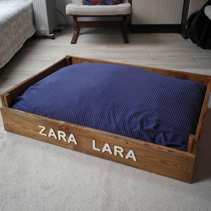 Zara és Lara hamarosan megkapja új ágyikóját :) / pallet dogbed