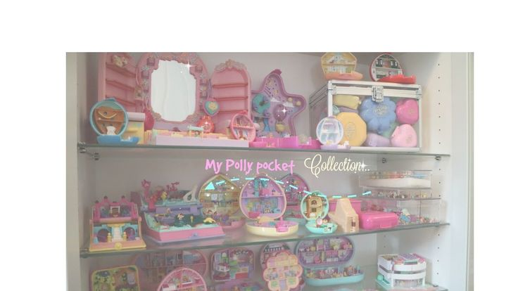 My polly pocket collection, English
