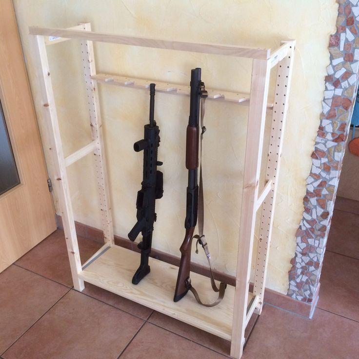 I Proudly Present The Ikea Gun Rack Cr Pinterest