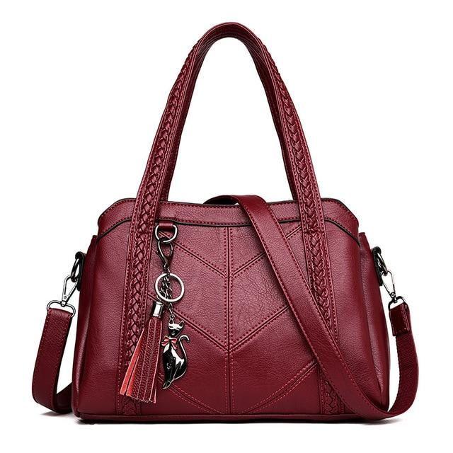 New Genuine Leather Bag Sheepskin Women Single Shoulder Leisure phone Bag