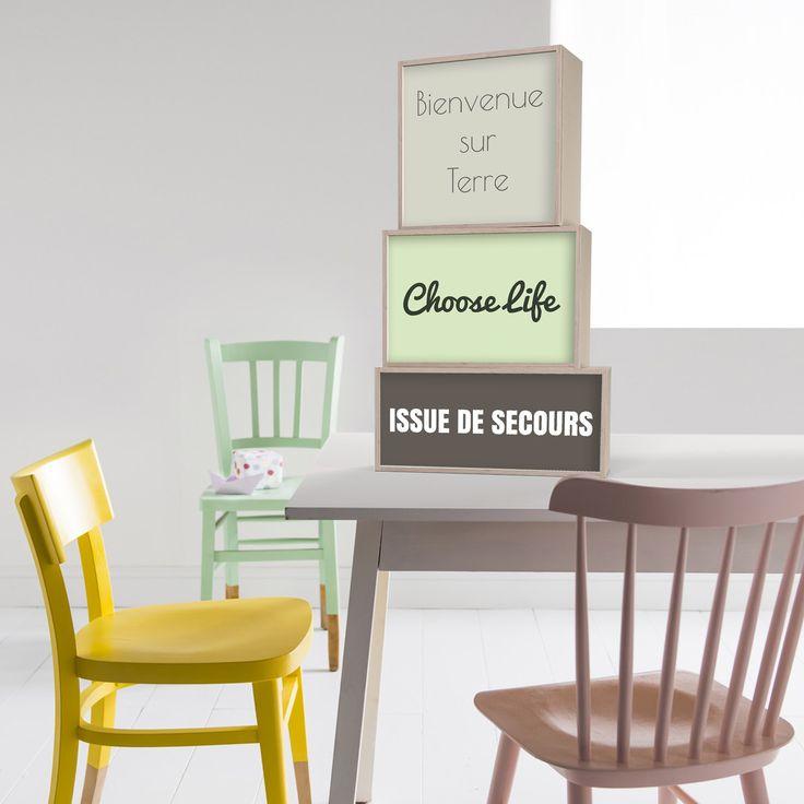 les 71 meilleures images du tableau boites lumineuses sur. Black Bedroom Furniture Sets. Home Design Ideas