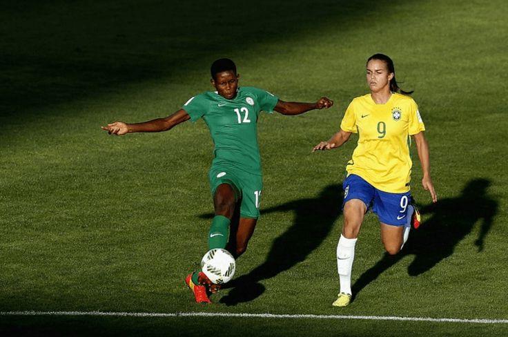 BRAZIL DEFEATED NIGERIA FIFA U17 FEMALE WORLD CUP (NGR 0 : 1 BRZ)