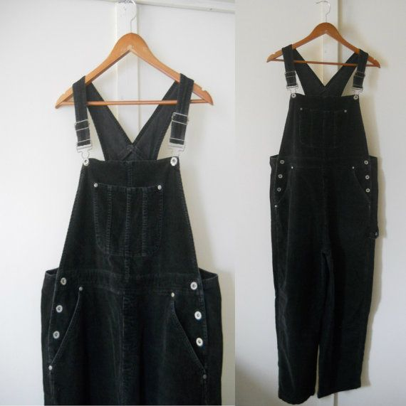 Overalls Womens Overalls 90s Overalls Corduroy by TheVilleVintage, $42.49
