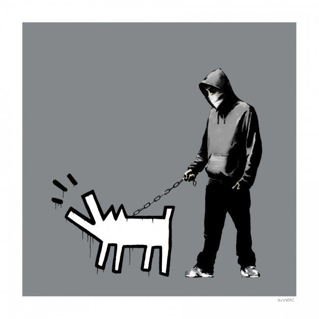 Choose Your Weapon (Grey)2010Silkscreen27.5 x 27.5 inches (69.85 x 69.85 cm)Edition of 100Signed and numbered