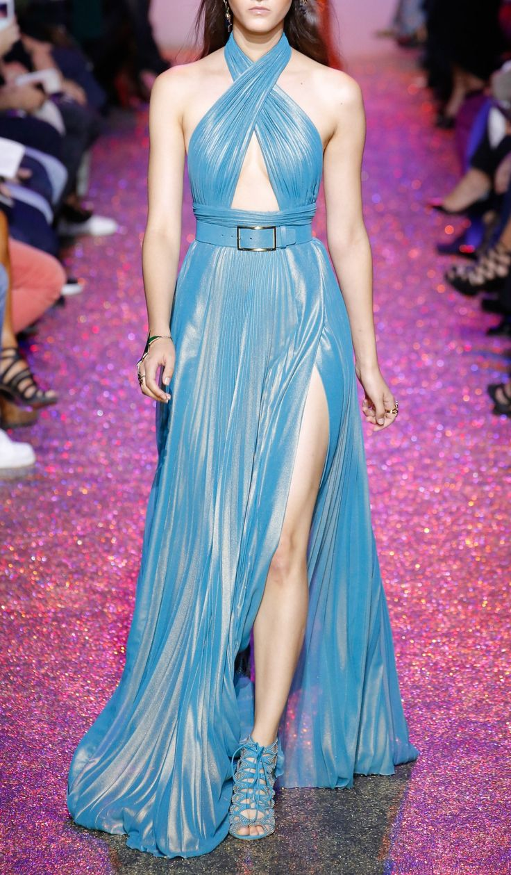 Elie Saab Spring 2017. Paris Fashion Week.