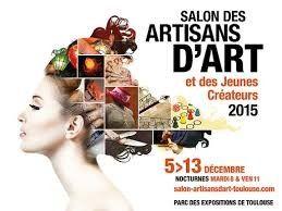 #Salon des Artisans d'Art et des Jeunes Créateurs à Toulouse du 5 au 13 décembre 2015. Le rendez-vous national des artisans du patrimoine artisanal français  http://www.batilogis.fr/agenda/salon-france-2015-1.html