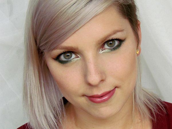 Sexy Podzimní Linky / Sexy Autumn Liner Eyes Makeup Tutorial http://getthelouk.com/?p=3077
