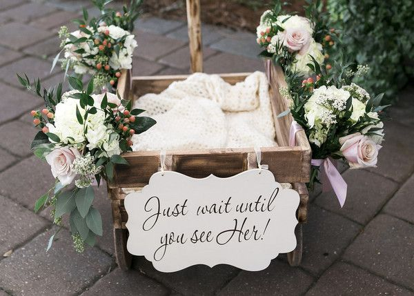 Flower Girl Wagon Decor