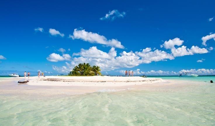 Îlet Caret au large de Sainte Rose Guadeloupe