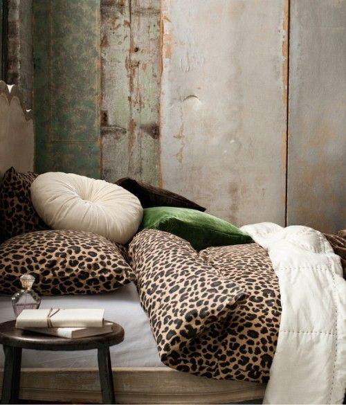 17 Best Ideas About Leopard Bedroom On Pinterest