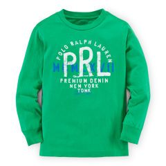 Cotton Long-Sleeve Graphic Tee - Boys 2-7 Tees & Sweatshirts - RalphLauren.com