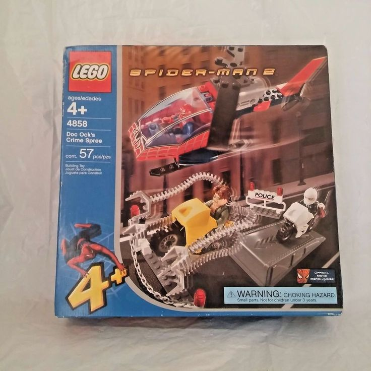 Lego Doc Ock's Crime Spree 4858 Spiderman 2 Helicopter Police Motorcycle 57 pc | Toys & Hobbies, Building Toys, LEGO | eBay!