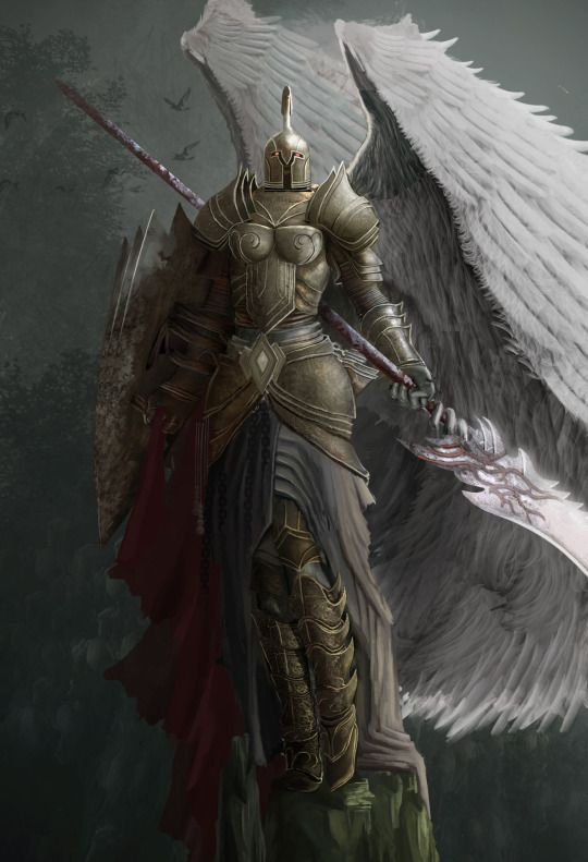 knights and armor art fantasy angels and celestial