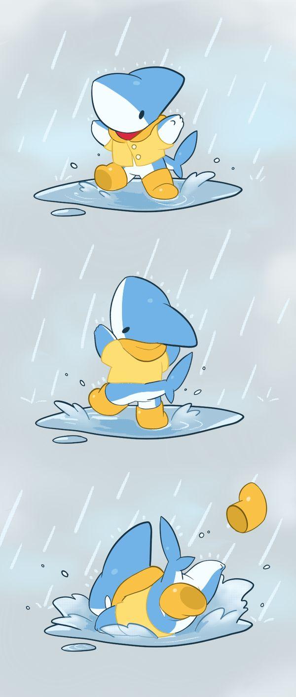 Det är en blåhaj i regnkläder som plaskar lite i vattenpölarna. Det är jättekul. bra qwertyuiopåasdfghjklöäzxcvbnm de är abc abcdefghijklmnopqrstuvwxyzåäö