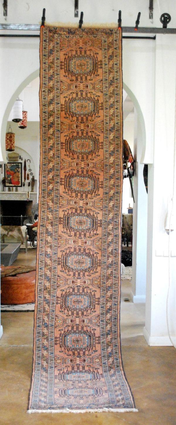 Vintage Pakistani Carpet Runner 418