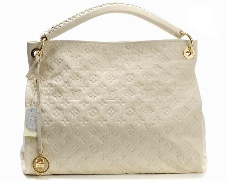 Louis Vuitton Genuine Leather Shoulder Bag M93450 - Beige http://www.cent-store.com/louis-vuitton-2012-new-arrivals-c-1_20_9_24_27.html