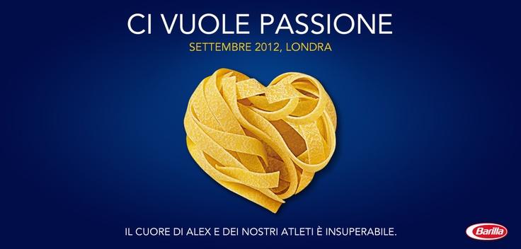 Ci vuole passione! #Barilla  http://www.facebook.com/Barilla