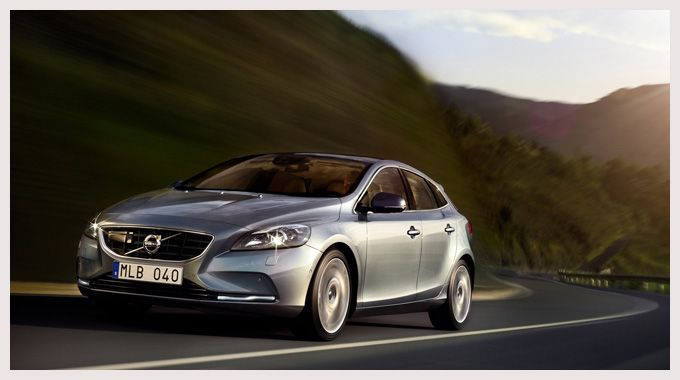 The new Volvo V40. One of the most well-equipped, safe, good-looking 5-door hatchbacks out there.