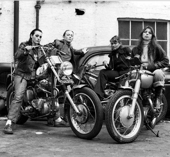 Girl Bikers  Project Girl Biker Gang  Pinterest -1277