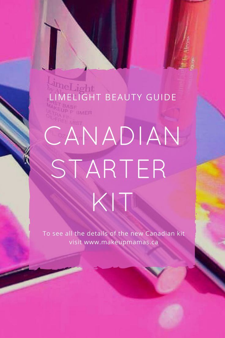 Find all the details about the newly announced Canadian LimeLight Beauty Guide Starter Kit up on the blog! Full size, natural and professional skin care & makeup at an incredible discount.