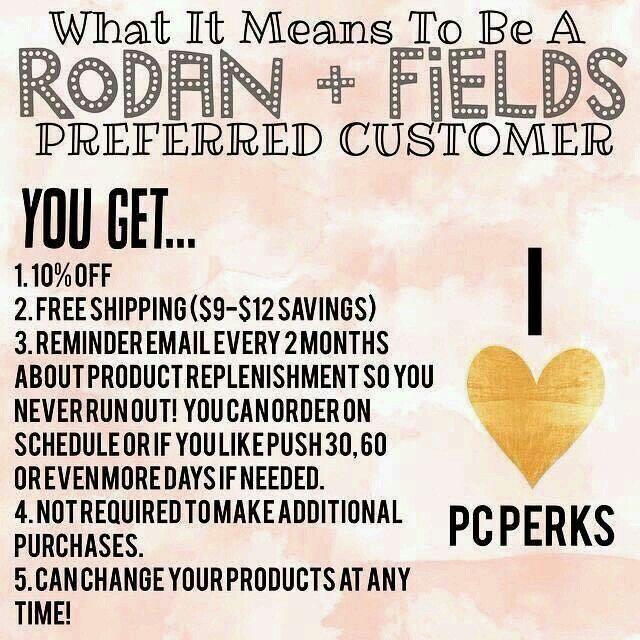 I will PERSONALLY reimburse the $20 one time fee to sign up as a preferred customer! jphillips12.myrandf.com #loveyourskin #beautifulskin