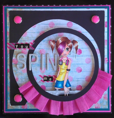 Paper Pieces of Me: You SPIN me Right Round