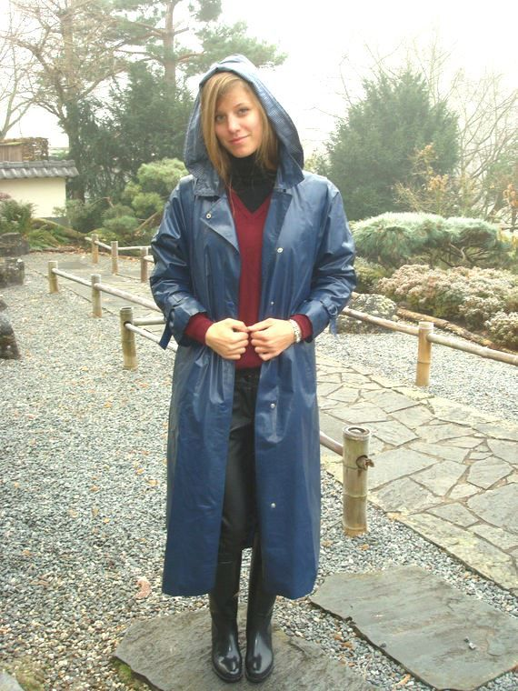 Hooded  klepper raincoat