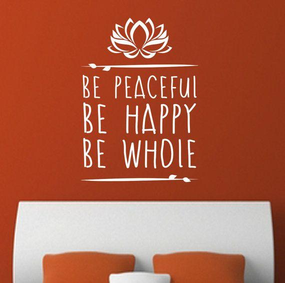 Arty Yoga Meditation Inspirational Words. Be by DesignDivilFitness