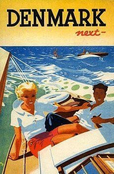 Vintage travel Belgium - Denmark - Danemark 1936