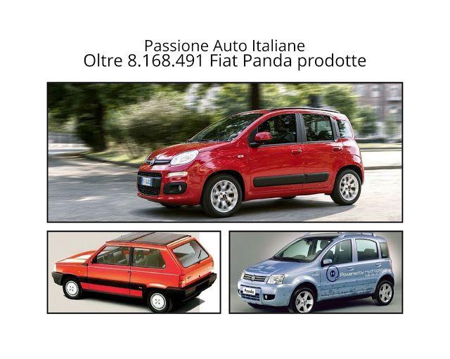 Passione Auto Italiane: Oltre 8.168.491 Fiat Panda prodotte in 37 anni