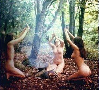 Skyclad... Not 4 Everyone....not all wiccans have to be naked it is a personal choice... the nakedness is just thought to bring you closer to nature.... everything in nature is naked so why not be naked as well. just a thought.