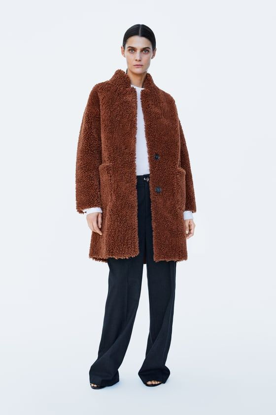 4d2dd758 DOUBLE FACED FAUX FUR COAT - Collection-TIMELESS-WOMAN-CORNER SHOPS | ZARA  United States