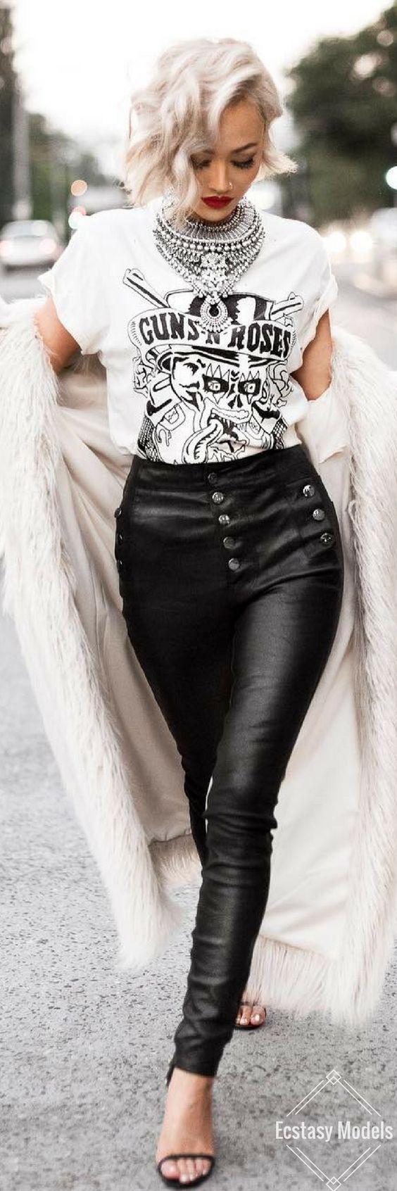 Rockstar // Fashion Look by Micah Gianneli