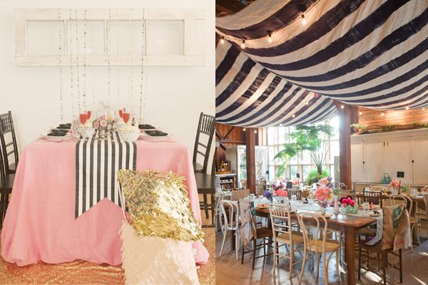Striped-Wedding-Decor