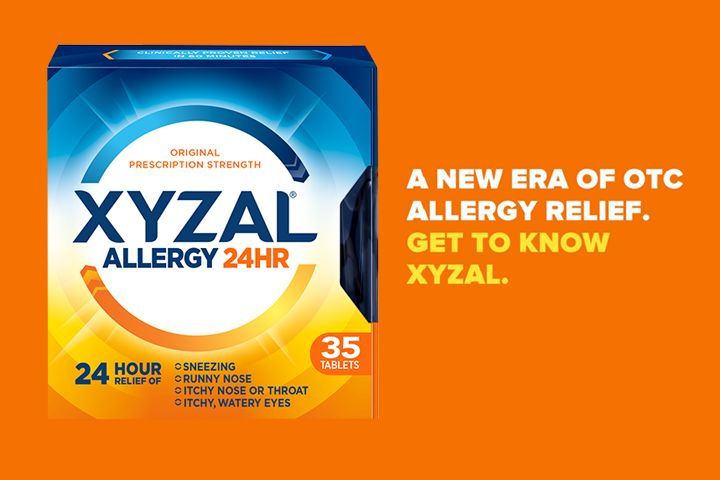 Enter for a Chance to Win: Xyzal Allergy 24HR: You could win one of 3,000 free boxes of Xyzal Allergy 24HR starting at 9am ET on March 27 !